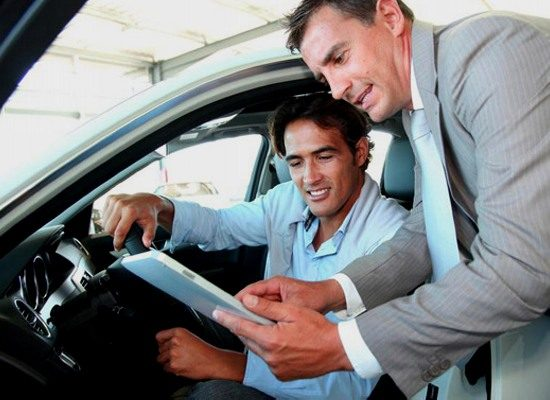 Техника продаж автомобиля